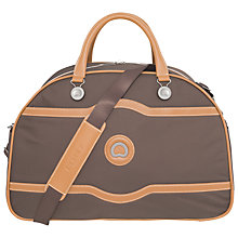 Buy Delsey Chatelet Plus Soft 52cm Soft Duffle Bag, Chocolate Online at johnlewis.com