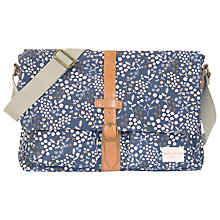 Buy Brakeburn Floral Satchel, Navy Online at johnlewis.com