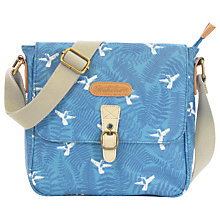 Buy Brakeburn Hummingbird Fern Across Body Bag, Teal Online at johnlewis.com