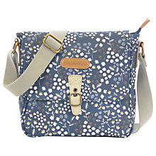 Buy Brakeburn Floral Across Body Bag, Navy Online at johnlewis.com