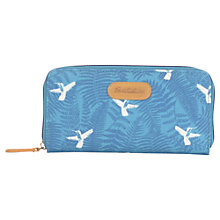 Buy Brakeburn Hummingbird Fern Large Coated Canvas Purse, Teal Online at johnlewis.com