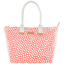 Buy Brakeburn Delicate Daisy Shopper Bag, Coral Online at johnlewis.com