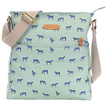Buy Brakeburn Horses Large Saddle Bag, Green Online at johnlewis.com