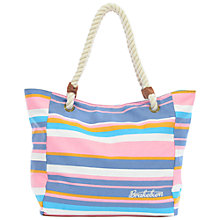 Buy Brakeburn Stripe Beach Bag, Multi Online at johnlewis.com