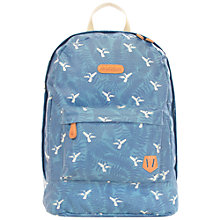 Buy Brakeburn Hummingbird Fern Backpack, Teal Online at johnlewis.com