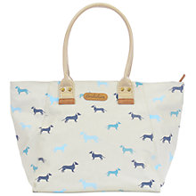 Buy Brakeburn Sausage Dog Tote Bag, Stone Online at johnlewis.com