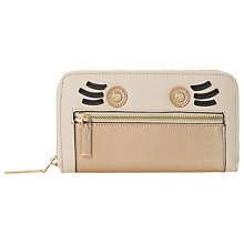 Buy Dune Kinga Face Detail Purse, Taupe Online at johnlewis.com