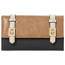 Buy Dune Kailey Buckle Strap Purse, Neutral/Black Online at johnlewis.com