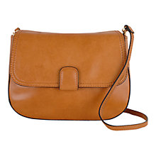 Buy Tula Smooth Orginals Small Flapover Leather Across Body Bag Online at johnlewis.com
