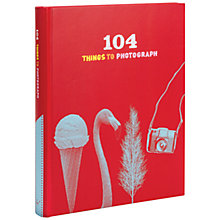 Buy 104 Things To Photograph Album Online at johnlewis.com