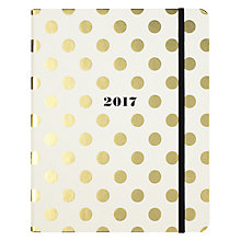 Buy kate spade new york 17-Month Large Spot Agenda Online at johnlewis.com