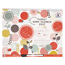 Buy Organised Mum Family Home Planner 2016-2017 Online at johnlewis.com