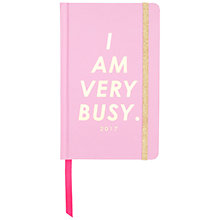 Buy Ban.do I Am Very Busy Academic Diary 2016-17, Pink Online at johnlewis.com