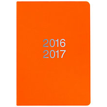 Buy Letts Academic Diary 2016-17, Dazzle Orange Online at johnlewis.com