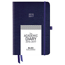 Buy Mum's Office BLOX Academic Diary, Navy Online at johnlewis.com