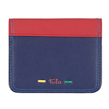 Buy Tula Violet Leather Card Holder Wallet, Purple Online at johnlewis.com