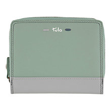 Buy Tula Violet Leather Ziparound Wallet Online at johnlewis.com