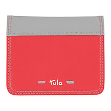 Buy Tula Violet Wallet Credit Card Holder, Red Online at johnlewis.com