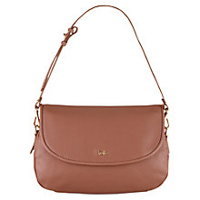 Buy Tula Alpine Originals Medium Leather Flap Over Shoulder Bag, Tan Online at johnlewis.com