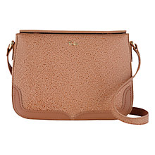 Buy Tula Rye Originals Leather Medium Double Flap Across Body Bag Online at johnlewis.com