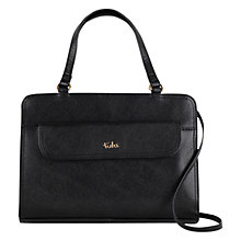 Buy Tula Saffiano Originals Medium Leather Zip Top Shoulder Bag Online at johnlewis.com
