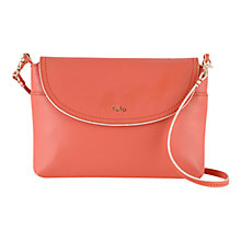 Buy Tula Smooth Originals Small Leather Party Bag, Pink Online at johnlewis.com