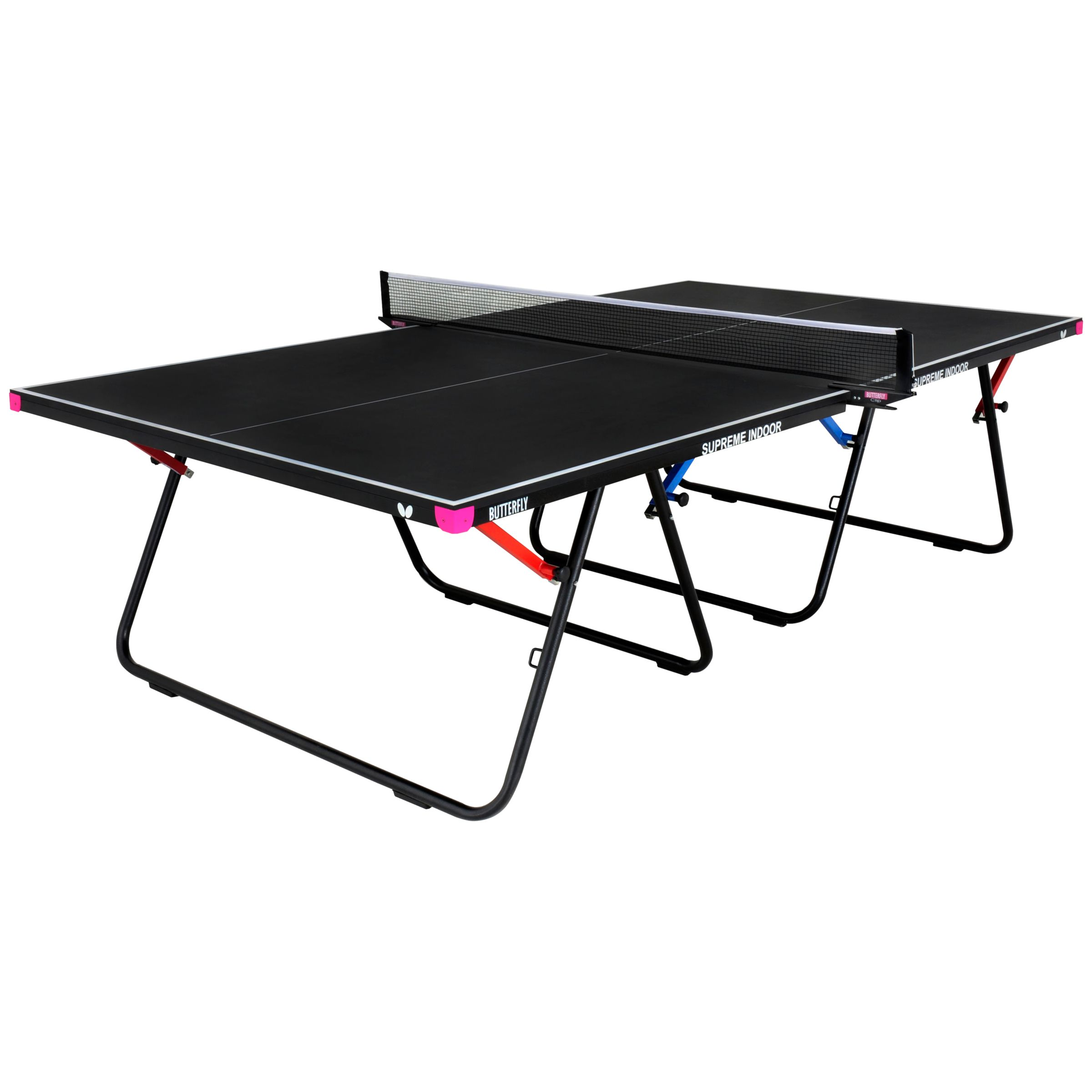Butterfly Butterfly Supreme Indoor Table Tennis, Black