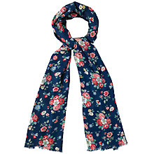 Buy Cath Kidston Forest Bunch Scarf, Navy/Multi Online at johnlewis.com