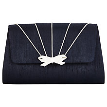 Buy Jacques Vert Pipe Detail Clutch Bag, Navy Online at johnlewis.com