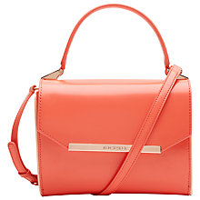 Buy Ted Baker Avaa Leather Across Body Bag, Coral Online at johnlewis.com
