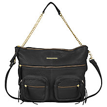 Buy Et DAY Birger et Mikkelsen Utility Leather Shoulder Bag, Black Online at johnlewis.com