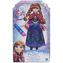 Buy Disney Frozen Anna Magical Cape Doll Online at johnlewis.com