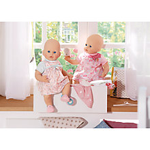 Buy Zapf Baby Born Floral Dress, Assorted Online at johnlewis.com
