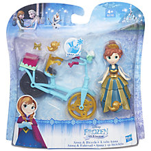 Buy Disney Frozen Anna and Bicycle Set Online at johnlewis.com