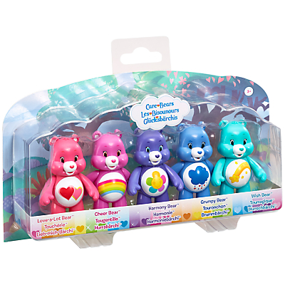 Care Bears Articulated 5 Figure Pack