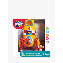 Buy WOW Toys Ronnie Rocket Online at johnlewis.com