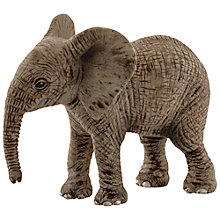 Buy Schleich Elephant Calf Figurine Online at johnlewis.com