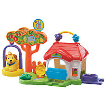 Buy VTech Toot Toot Animals Dog Playhouse Online at johnlewis.com