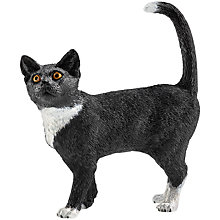 Buy Schleich Standing Cat Figurine Online at johnlewis.com
