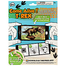 Buy Come Alive! T-Rex Virtual Reality and Puzzle Pack Online at johnlewis.com