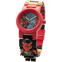 Buy LEGO Ninjago Sky Pirates Kai Minifigure Link Watch Online at johnlewis.com