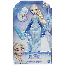 Buy Disney Frozen Elsa Magical Cape Doll Online at johnlewis.com