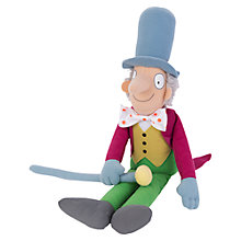 Buy Roald Dahl Willy Wonka Soft Toy Online at johnlewis.com