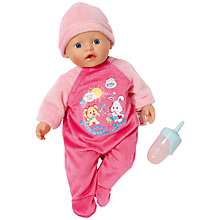 Buy Zapf My Little Baby Born Bathing Fun Doll Online at johnlewis.com