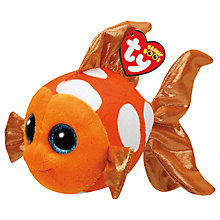 Buy Ty Beanie Boos Sami Fish Soft Toy, 16cm Online at johnlewis.com