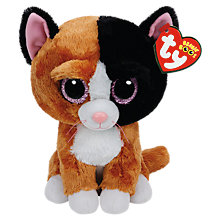 Buy Ty Beanie Boos Tauri Cat Soft Toy, 24cm Online at johnlewis.com