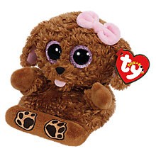 Buy Ty Zelda Dog Peek-A-Boo Soft Toy Online at johnlewis.com