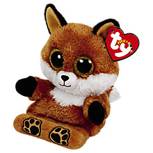 Buy Ty Sly Fox Peek-A-Boo Soft Toy Online at johnlewis.com