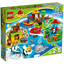 Buy LEGO DUPLO Around The World Bundle with Free Duplo Snail Online at johnlewis.com