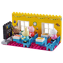 Buy Peppa Pig Schoolhouse Construction Set Online at johnlewis.com